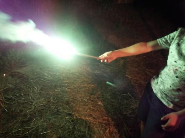 レーザー光線1